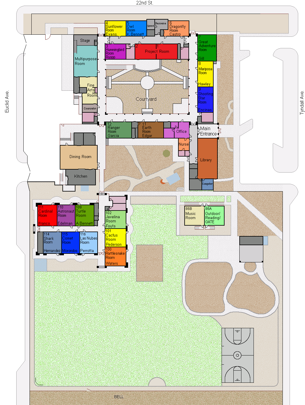 Borton 2017 campus map